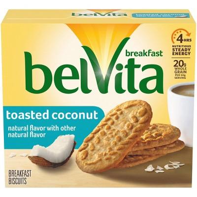 belVita Toasted Coconut Breakfast Biscuits - 5 Packs
