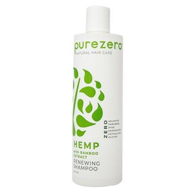 Purezero Hemp and Bamboo Renewing Shampoo - 12 fl oz