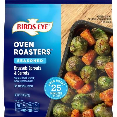 Birds Eye Frozen Oven Roasters Brussel Sprouts & Carrots - 15oz