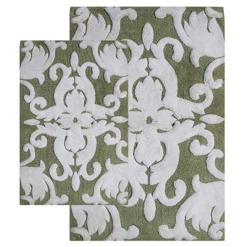 Iron Gate Floral Bath Mat Set - Chesapeake® - image 1 of 2