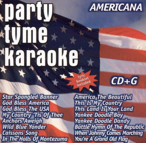 Party tyme karaoke - Americana (CD) - image 1 of 1