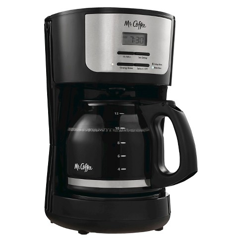 Mr Coffee 12 Cup Programmable Coffeemaker Black Bvmc Flx23 Target