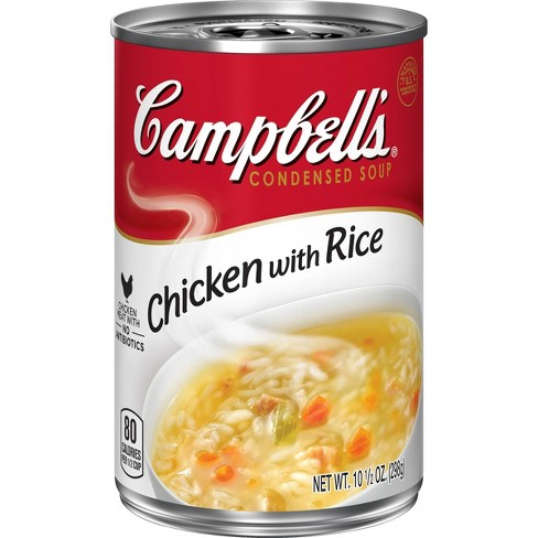 Campbell's Condensed Chicken with Rice Soup 10.5oz - image 1 of 4