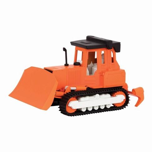 DRIVEN – Small Toy Construction Vehicle – Micro Bulldozer - Orange - image 1 of 4