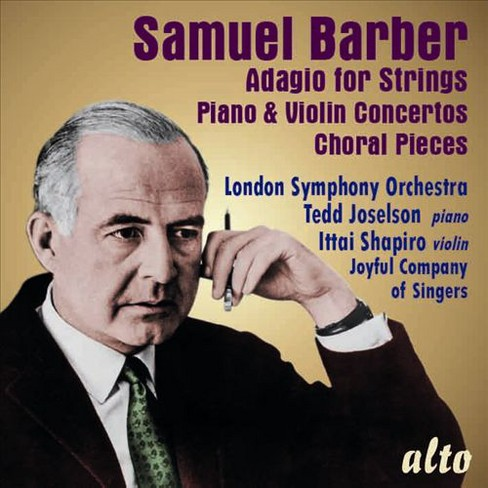 London symphony orch - Barber:Adagio for strings/Piano & vio (CD) - image 1 of 1