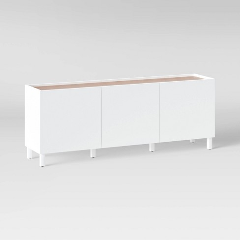 """70"""" TV Stand White - Project 62™ - image 1 of 4"""