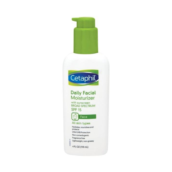 Cetaphil Daily Facial Moisturizer SPF 15 Unscented - 4oz : Target