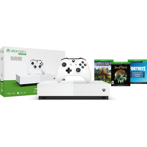Xbox One S 1TB All Digital - image 1 of 4