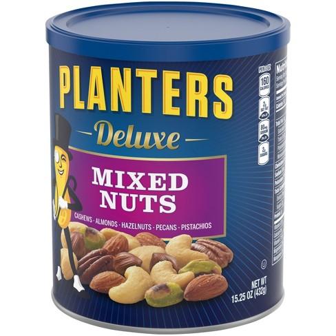 Planters Deluxe Sea Salt Mixed Nuts - 15 25oz