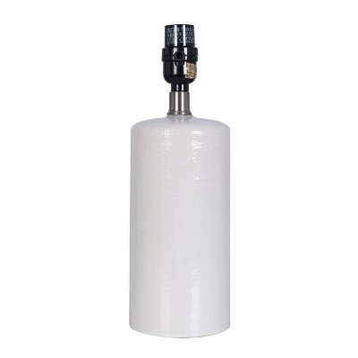 Small Ceramic Lamp Base White - Threshold™