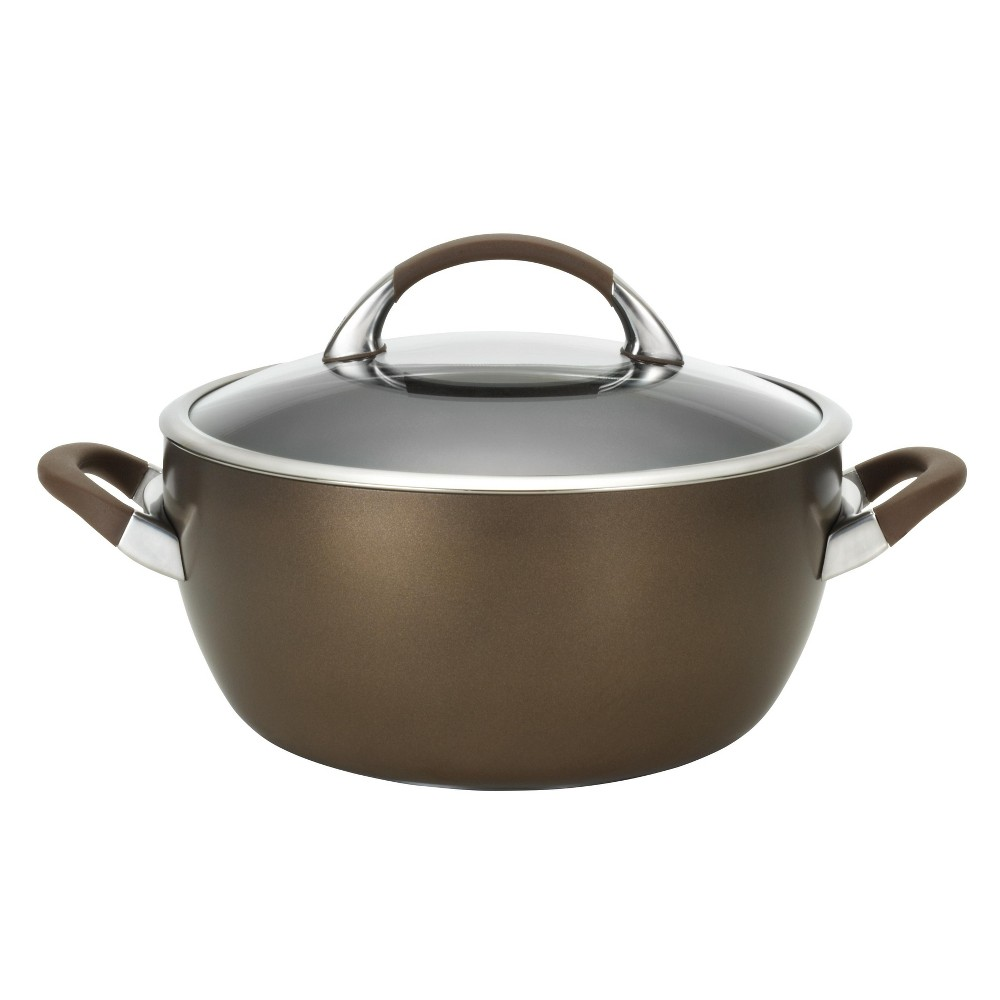 Circulon Symmetry 5.5 Quart Covered Casserole - Chocolate (Brown)