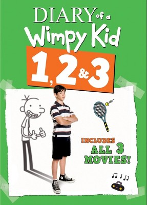 Diary of a Wimpy Kid 1, 2 & 3 (DVD)