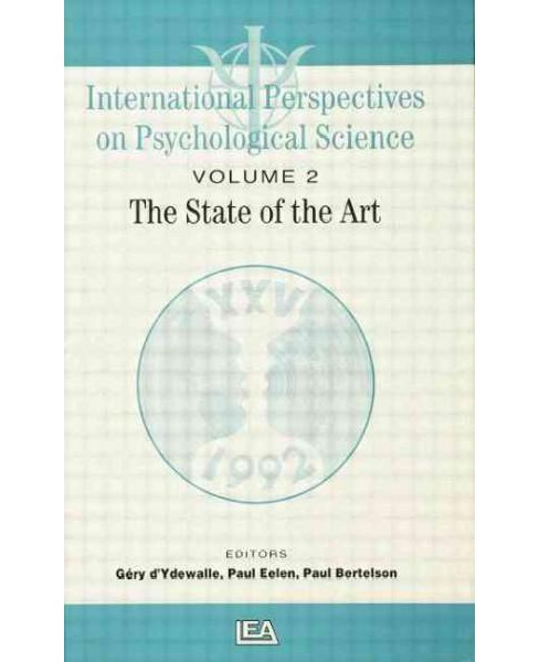 International Perspectives on Psychological Science : The State of the Art: State of the Art Lectures - image 1 of 1