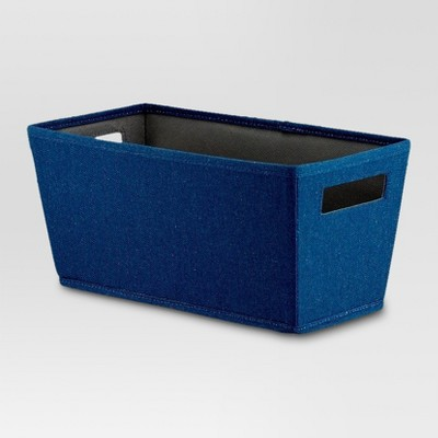 Fabric Quarter Bin - Navy - Threshold™