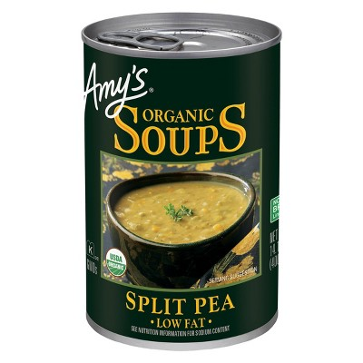 Amy's Organic Low Fat Split Pea Soup 14.1oz