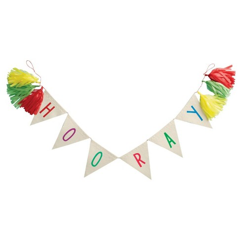 Hooray Party Banner - Spritz™ - image 1 of 1