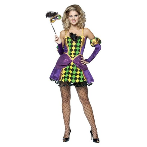 Women's Mardi Gras Queen Costume - image 1 of 1