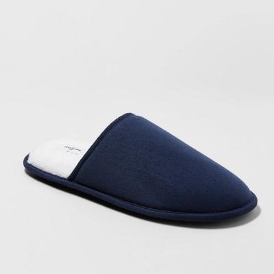 Men's Edwin Slide Slippers - Goodfellow & Co™ Navy L