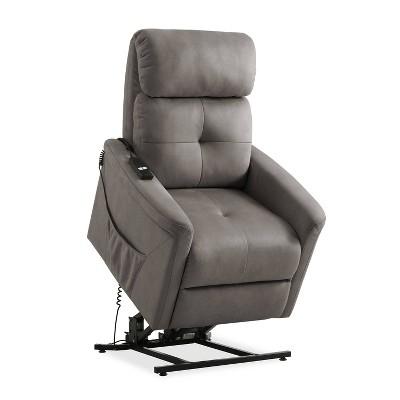 Power Recline and Lift Chair Gray – ProLounger