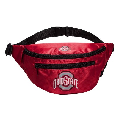 NCAA Ohio State Buckeyes Clear Fanny Pack