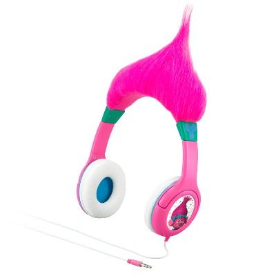 eKids Trolls Hair-ific Headphones - (TR-140.EX)