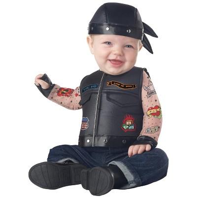 California Costumes Born to Ride Infant Costume