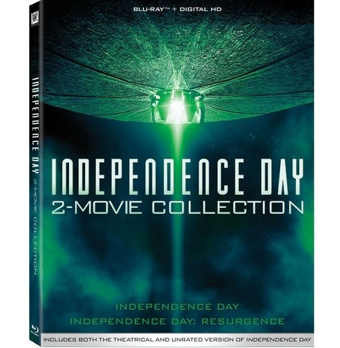Independence Day 2 Movie Collection (Blu-ray) - image 1 of 1