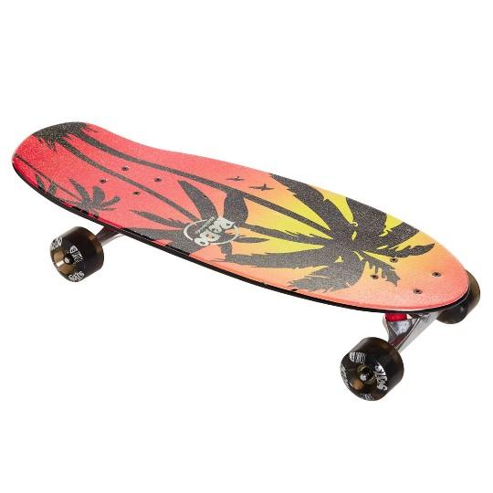Jakks Pacific Redo Shorty Cruiser Pink Palm Skateboard image number null