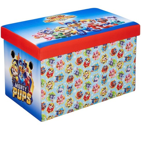 Fresh Home Elements 30-Inch Licensed Folding Super Toy Chest & Bench, Paw Patrol - image 1 of 4
