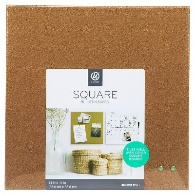 Cork board tiles Pin Up About This Item Target Ubrands Cork Board Unframed Tile 14