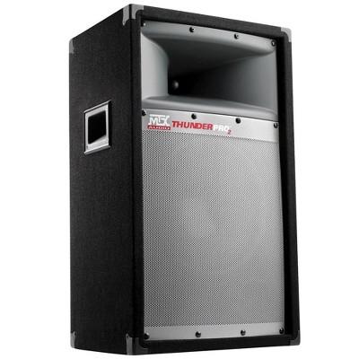 "MTX TP1200 12"" 300W 2 Way Loud Cabient Tower PRO DJ PA Speaker Audio System"