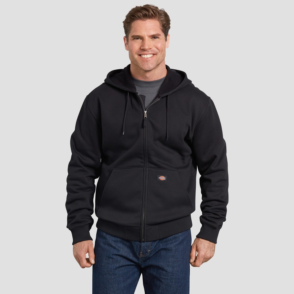 Dickies Men's Tall Long Sleeve Jackets - Black Xlt