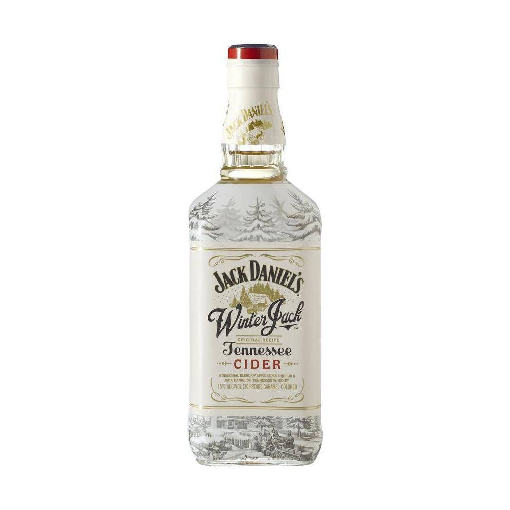 CRAFTS Jack Daniels Winter Jack Tennessee Cider Bottle Empty 750 ML
