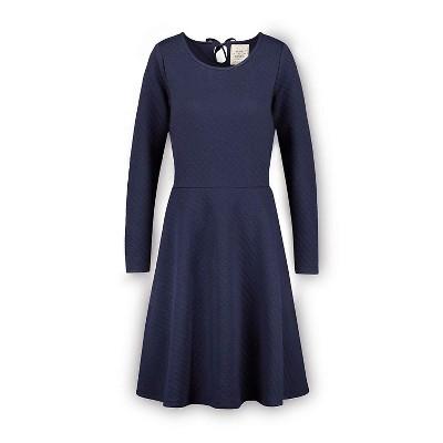 Hope & Henry Women's Quilted Matelasse Dress