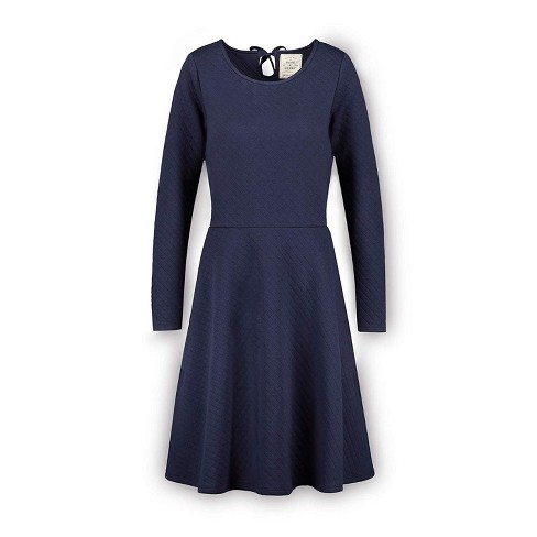 Hope & Henry Womens' Quilted Matelasse Dress - image 1 of 2