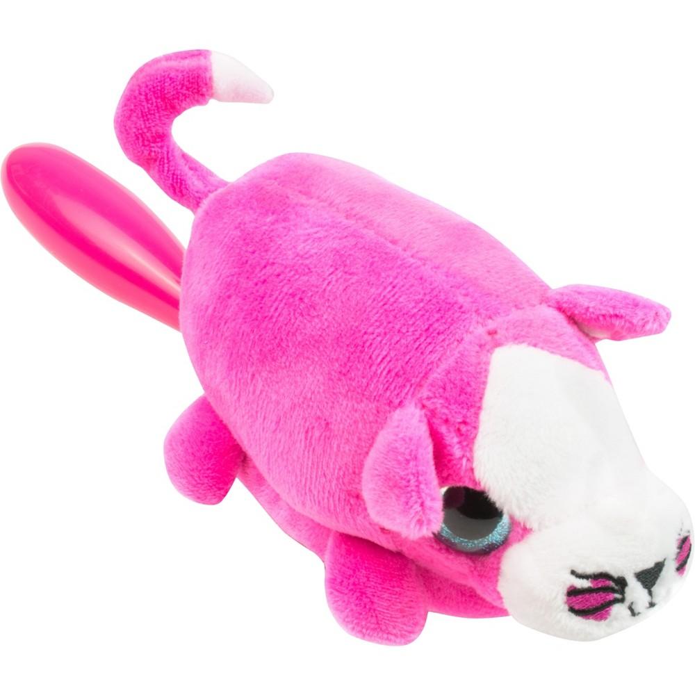 Image of Wet Brush Detangler Plush Kitten Hair Brush - Pink