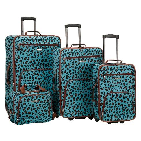 Rockland Jungle 4pc Luggage Set - image 1 of 1