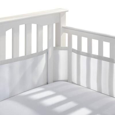 BreathableBaby Mesh Crib Liner - White