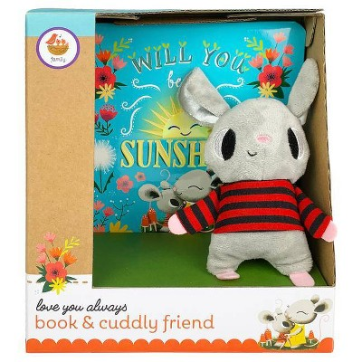 Will You Be My Sunshine Gift Set - (Book and Cuddly Plush Toy Friend)by Julia Lobo (Board Book)
