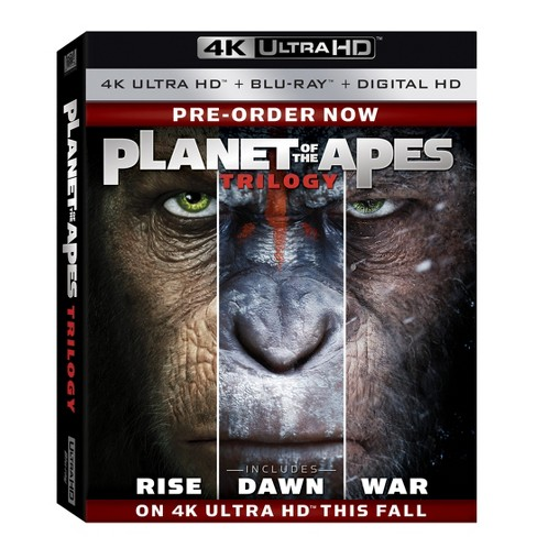 Planet Of The Apes Trilogy (4K/UHD + Blu-ray + Digital) - image 1 of 1