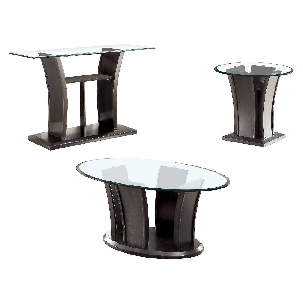 ioHomes Occasional Table Set Graystone