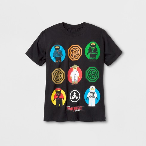 416eea3a Boys' LEGO® Ninjago Short Sleeve Graphic T-Shirt - Black S : Target