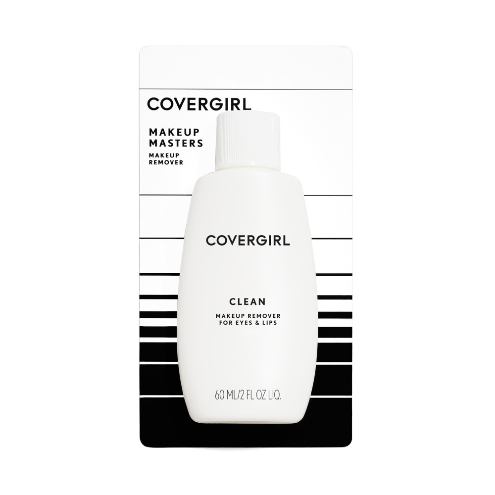 Covergirl Clean Liquid Makeup Remover, Clear
