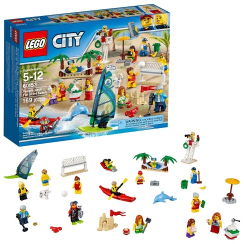 LEGO® Town People pack – Fun at the beach 60153 - image 1 of 19