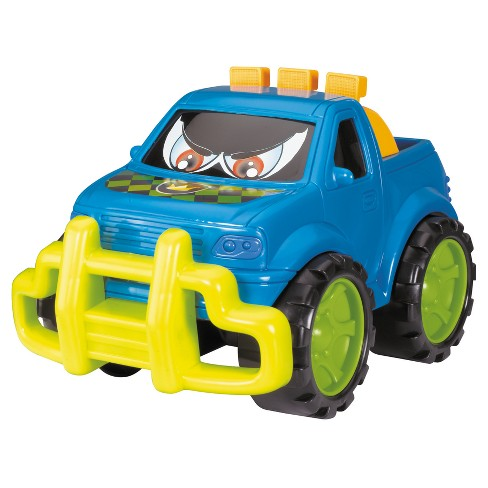 "Dickie Toys - Happy Runners Off Road Vehicle - Blue -  10"" - image 1 of 2"