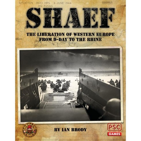 SHAEF (Supreme Headquarters Allied Expeditionary Force) Board Game - image 1 of 1