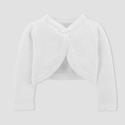 Baby Girls' Cardigan - Just One You™ Made by Carter's® White 3M