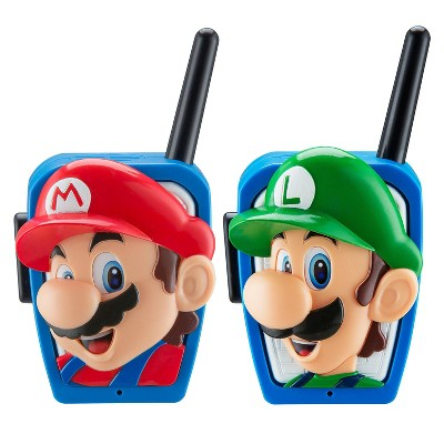 Nintendo Super Mario Walkie Talkies