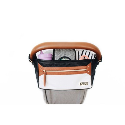 Itzy Ritzy Stroller Caddy - Coffee and Cream