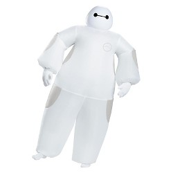 Big Hero 6: White Adult Baymax Inflatable Men's Costume One Size